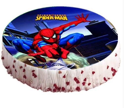 1 spiderman tortenaufleger geburtstag kuchen torte ebay - Ebay kuchen ...
