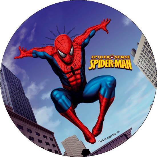 1 spiderman tortenaufleger geburtstag kuchenaufleger. Black Bedroom Furniture Sets. Home Design Ideas