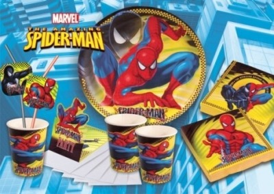 1 spiderman tortenaufleger geburtstag kuchen torte ebay. Black Bedroom Furniture Sets. Home Design Ideas