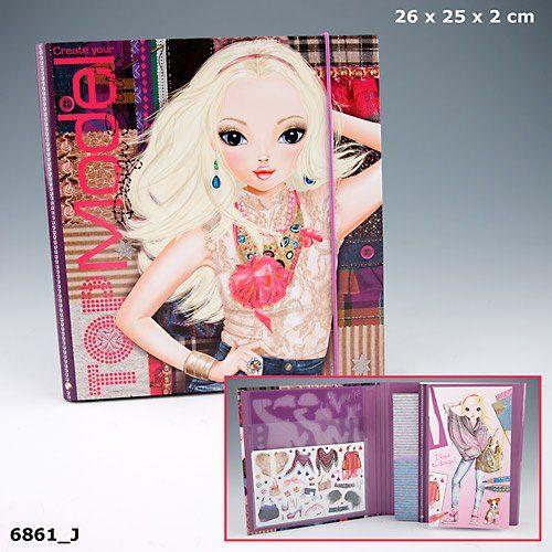 1 top model malheft depesche malbuch dance glamour doggy creativ studio neu ebay - Top model livre de dessin ...