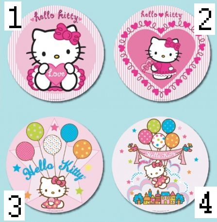 1 hello kitty tortenaufleger 21 cm geburtstag torte aufleger kuchenbild essbar ebay. Black Bedroom Furniture Sets. Home Design Ideas